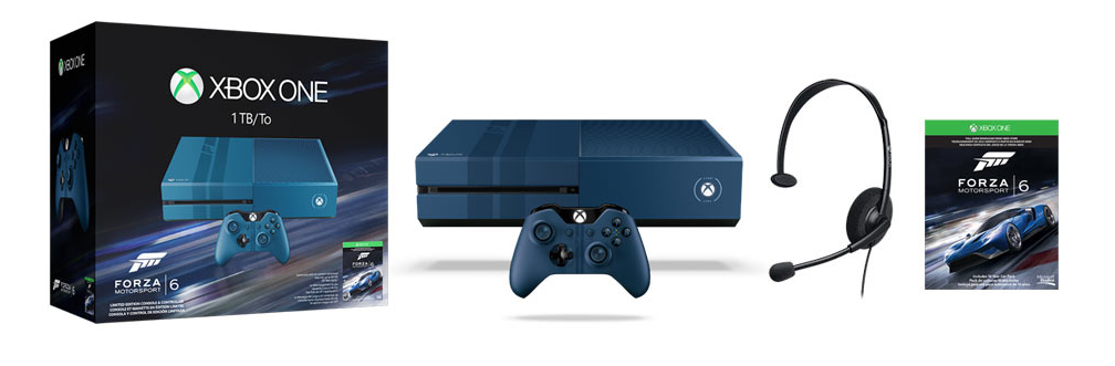 xbox one 1tb console forza motorsport 6. Black Bedroom Furniture Sets. Home Design Ideas