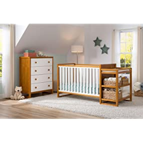 delta children gramercy convertible crib n changer
