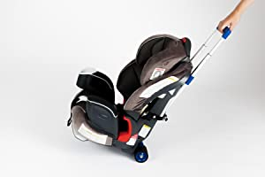 airport travel with kids, airport stroller, light-weight stroller