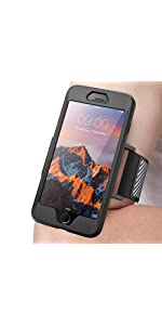 iphone 7 plus armband, iphone 7 plus sporty case, iphone 7 plus exercise case