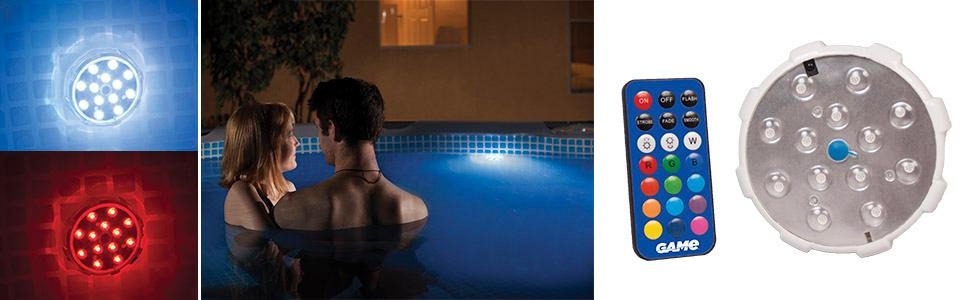 Amazon Com Game Waterproof Magnetic Led Color Changing