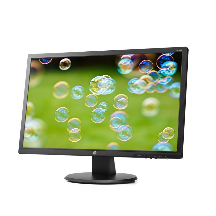 "HP 24uh 24"" Full HD Widescreen LED Monitor 1920x1080, 5ms ..."