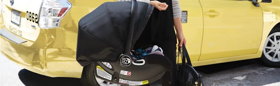 baby jogger 2016 city go infant car seat black baby. Black Bedroom Furniture Sets. Home Design Ideas