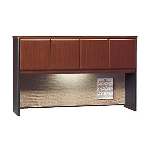 hutch, desk, office, home office, storage, file, shelf
