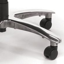 chrome;base;accent;5-star;casters;metal
