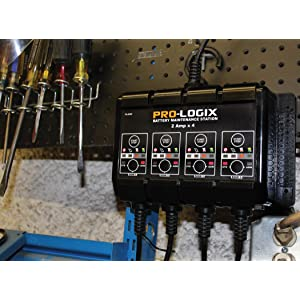 solar pro logix battery charger manual