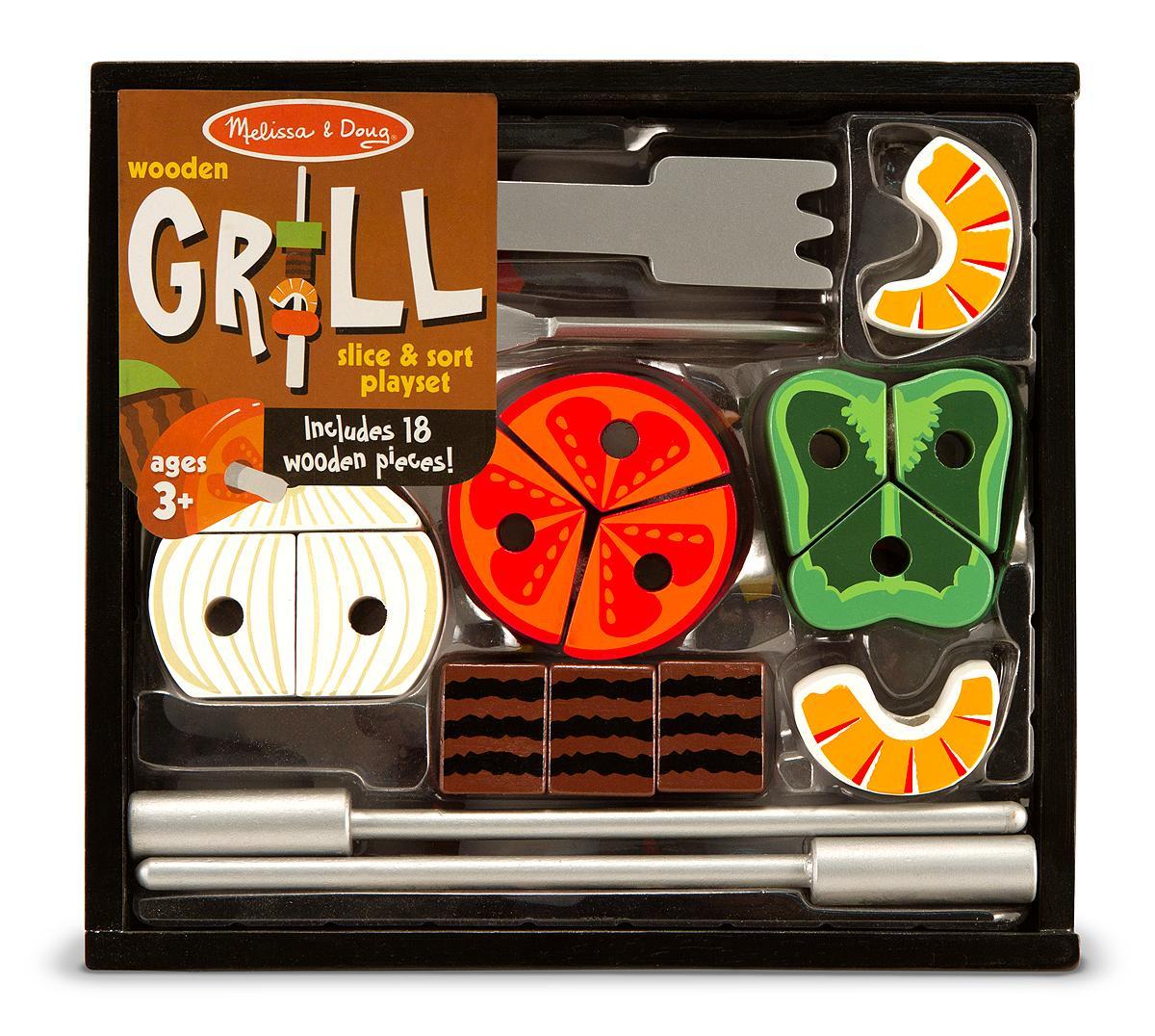 Melissa Doug Toys : Amazon melissa doug grill set toys