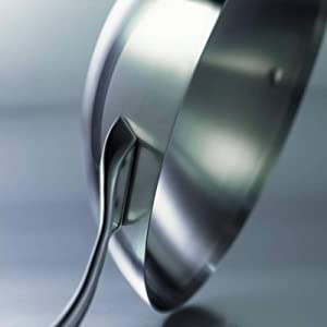 Calphalon Contemporary Stainless Steel 13-Inch Flat Bottom Wok