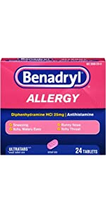 BENADRYL ULTRATAB Tablets