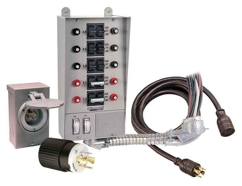 Transfer switch on Shoppinder