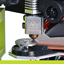 self leveling, lulzbot, hexagon, hot end