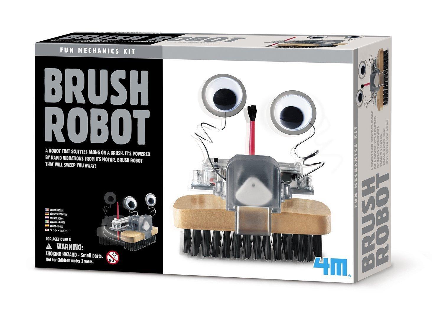 4m brush robot toys games. Black Bedroom Furniture Sets. Home Design Ideas