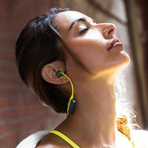 Exercise-proof, Sweatproof, premium sport audio, big sound, secure-fit, sweat-proof