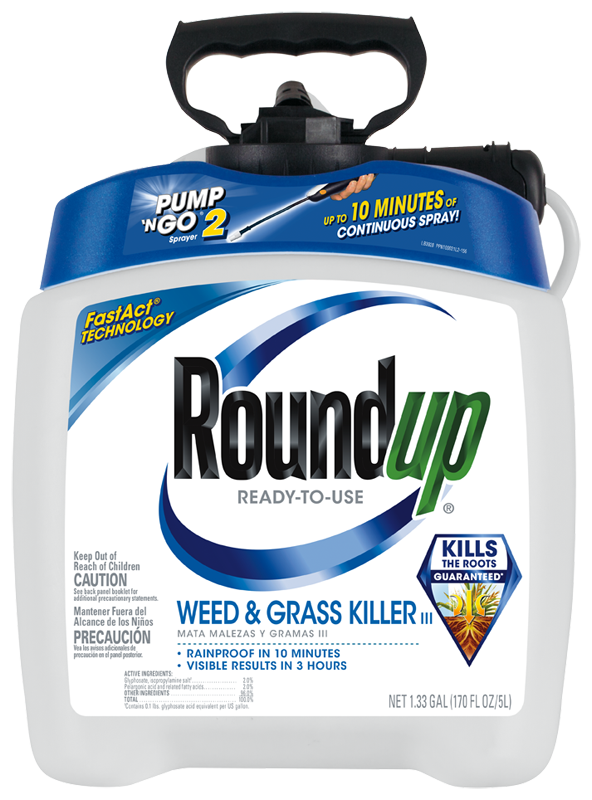 Amazon.com : RoundUp 5100114 1.33Gal Png, 1.33 GAL