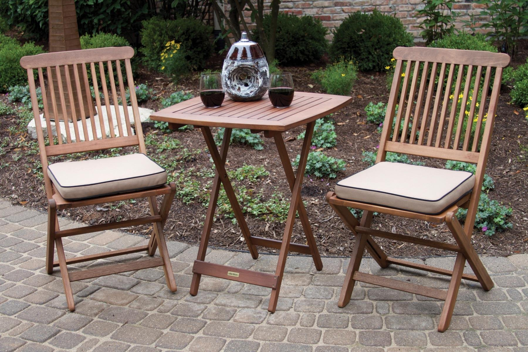 Outdoor Interiors Bistro Set