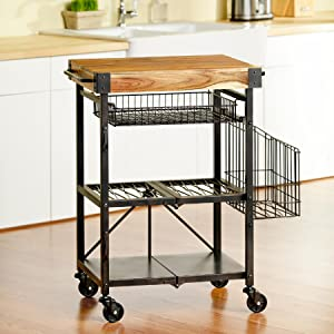 Artesa, Kitchen Cart, Storage Cart, Metal Storage