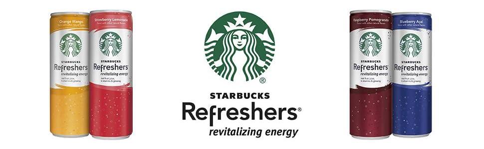 Starbucks refreshers revitalizing energy drink