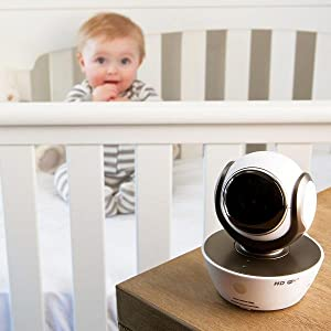 Motorola MBP854CONNECT Wi-Fi Video Baby Monitor Camera