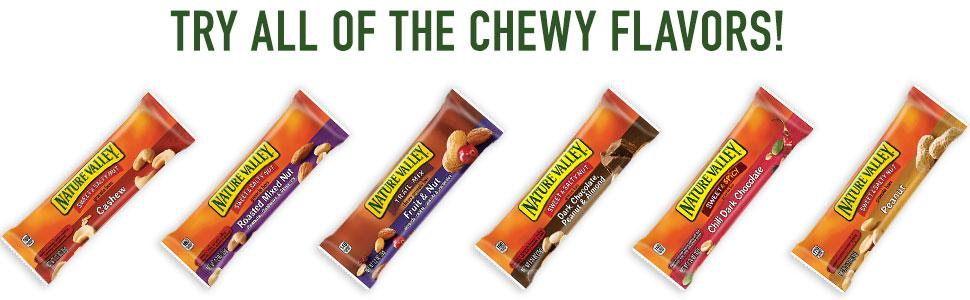 Amazon.com: Nature Valley Chewy Trail Mix Fruit and Nut