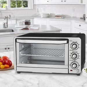 Cuisinart tob 40n custom classic toaster oven broiler - Cool touch exterior convection toaster oven ...