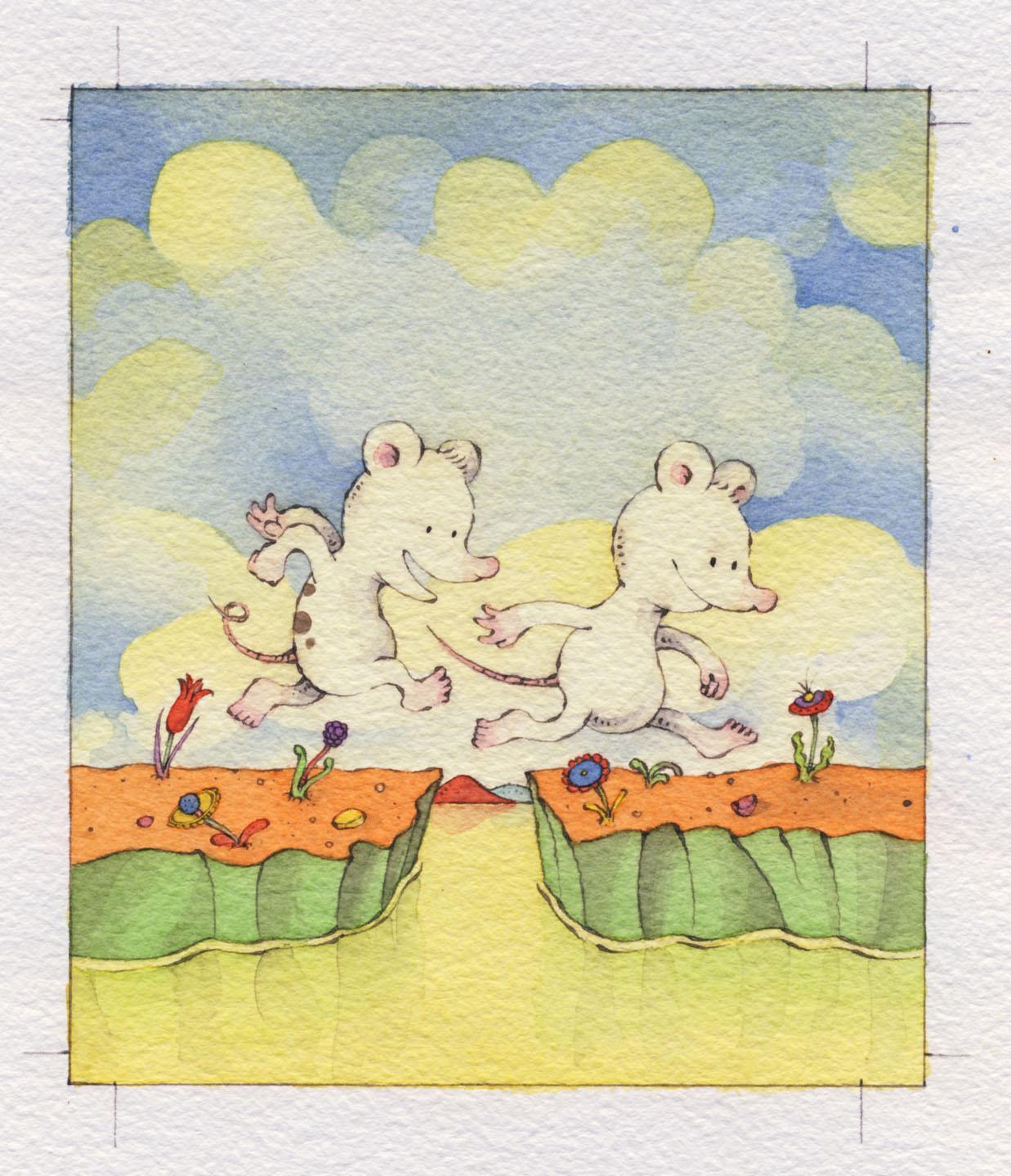 two mice sergio ruzzier 9780544302099 amazon com books