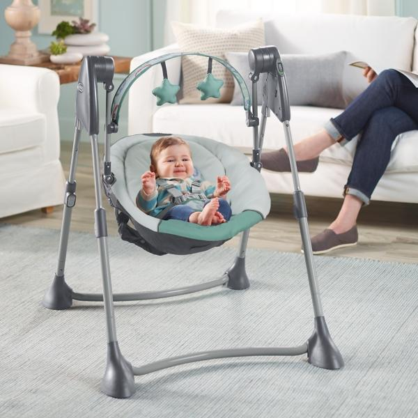 Graco Swing By Me Portable 2 N 1 Swing Cleo Toddler