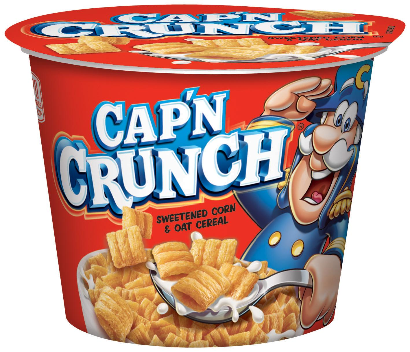 Amazon.com: Cap'n Crunch Breakfast Cereal, Original, 1