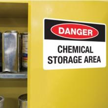 Avery UltraDuty GHS Chemical Labels; free templates; OHSA Labels; waterproof labels
