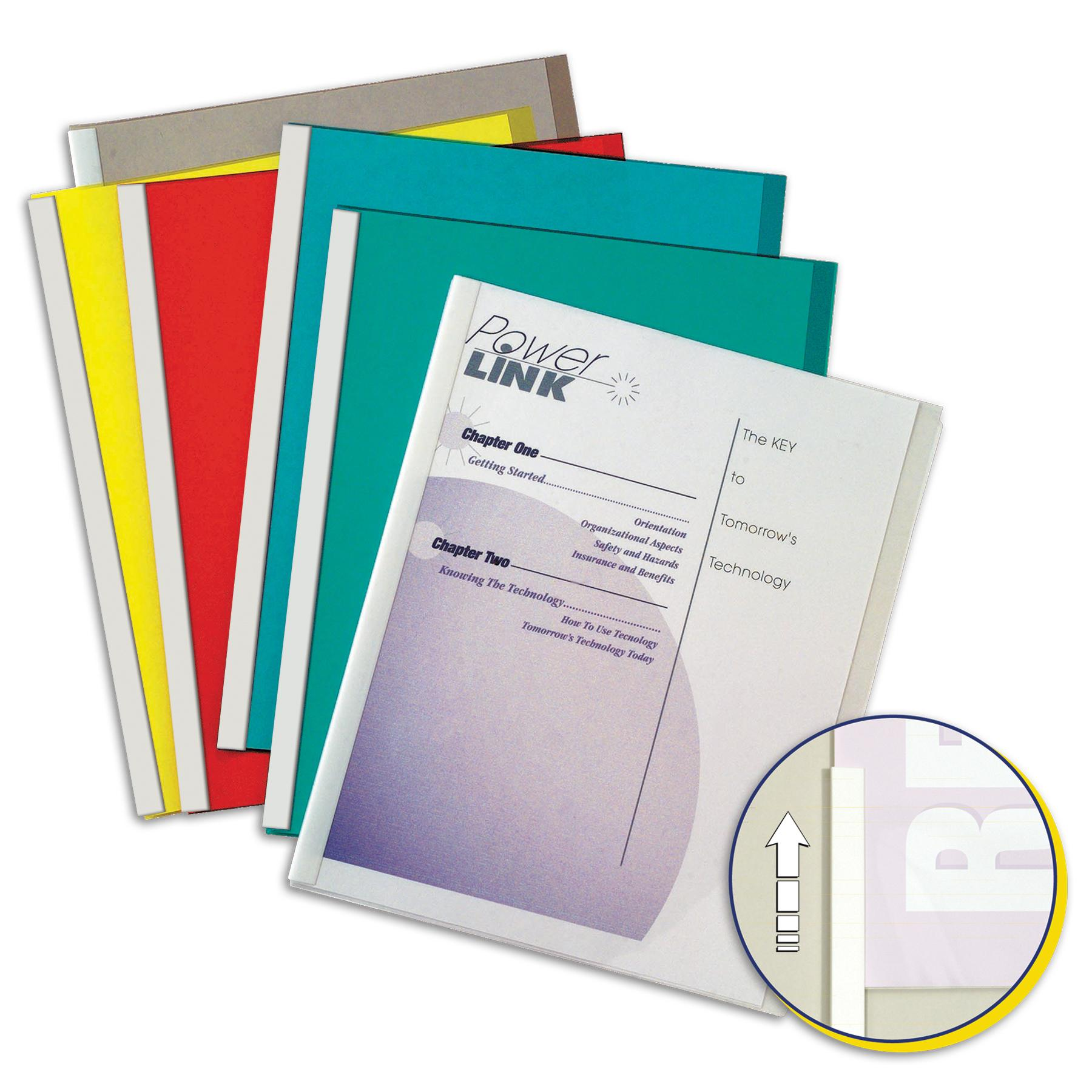 amazon com c line report covers with binding bars assorted color