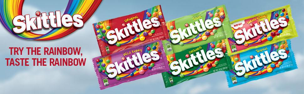 Skittle fruit flavors: Original, Sour, Sweets & Sours, Wildberry, Orchards, Mash Ups or Tropical?