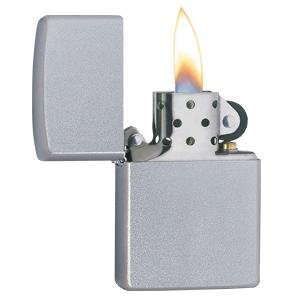 satin chrome, chrome lighter, 205