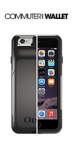 otterbox iphone 6 case commuter wallet series