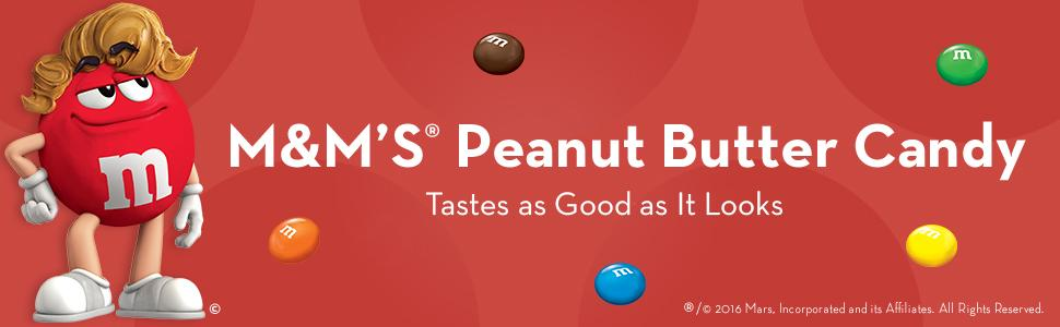 M&M'S Peanut Butter Candy tastes as good as it looks with your favorite chocolate.