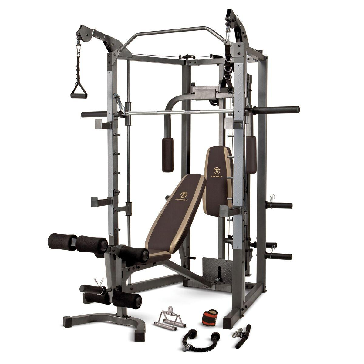 Amazon Com Marcy Combo Smith Machine Home Gym