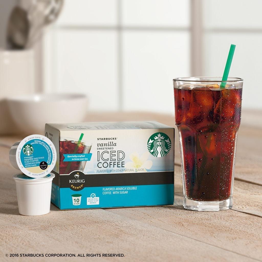 keurig iced coffee machine