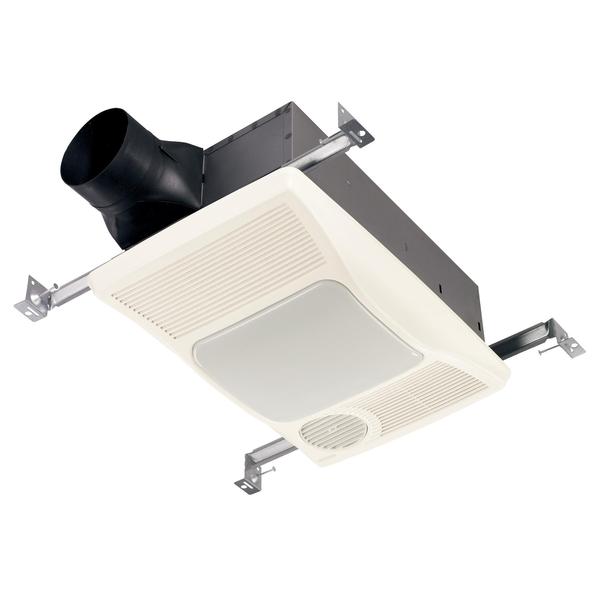 Nutone bathroom fan light replacement - Broan 100hl Directionally Adjustable Bath Fan With Heater And Incandescent Light