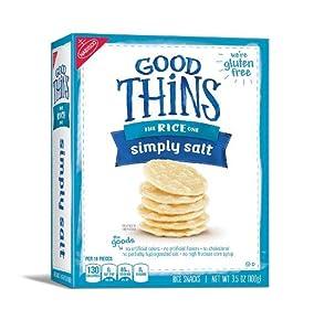 Amazon.com: Good Thins Potato Crackers, Sweet Potato, 3.75