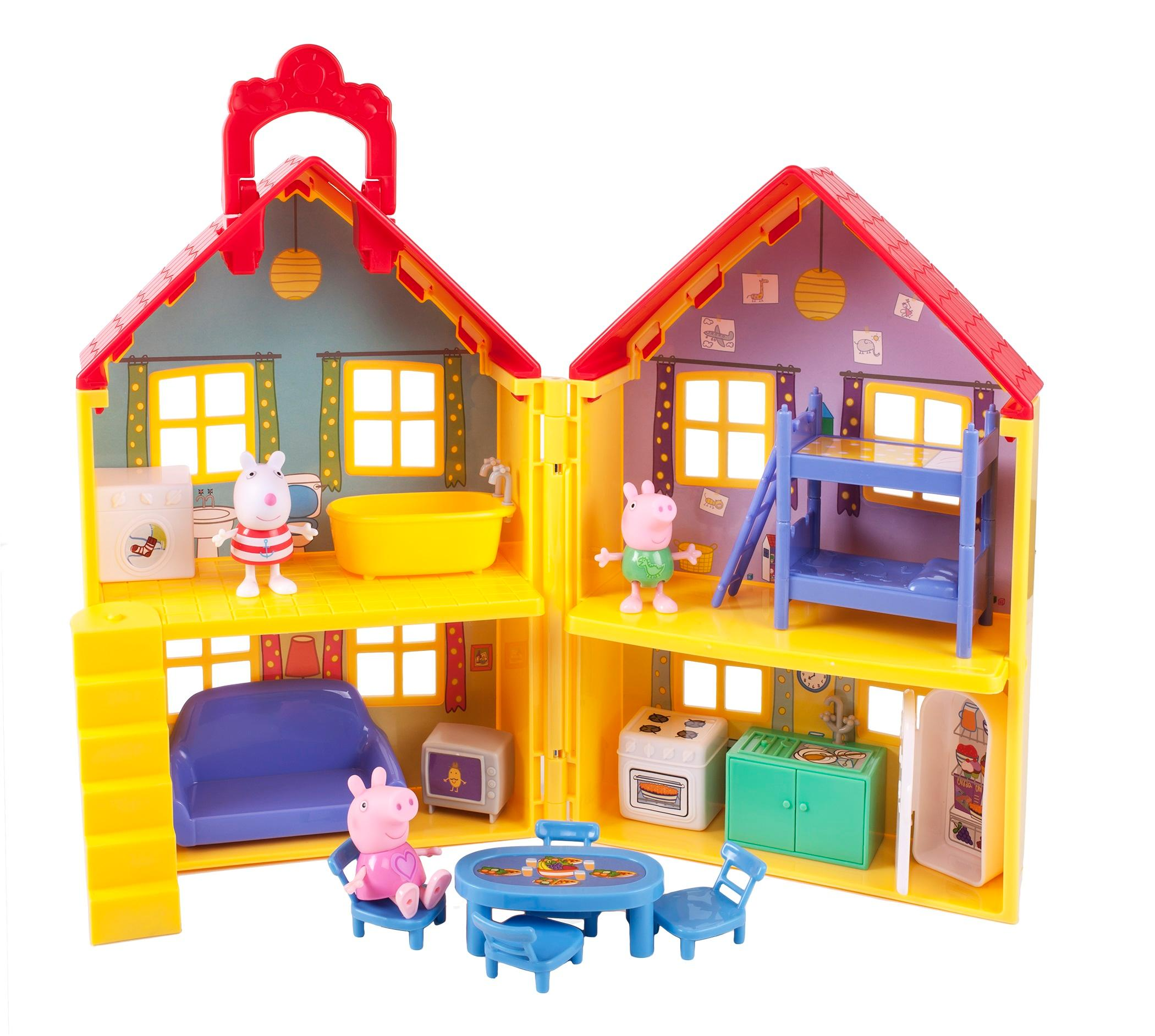 Groovy Peppa And George Giggle N Wiggle Plush Ocoug Best Dining Table And Chair Ideas Images Ocougorg