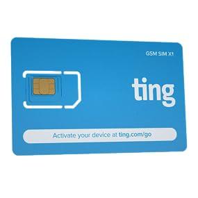 Ting, GSM, SIM, nano SIM, micro SIM, mini SIM, Ting GSM SIM, unlocked, GSM, cell phone, mobile