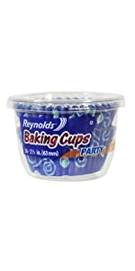 Party, Baking Cups, Reynolds, Patterns, Muffins, Cupcakes