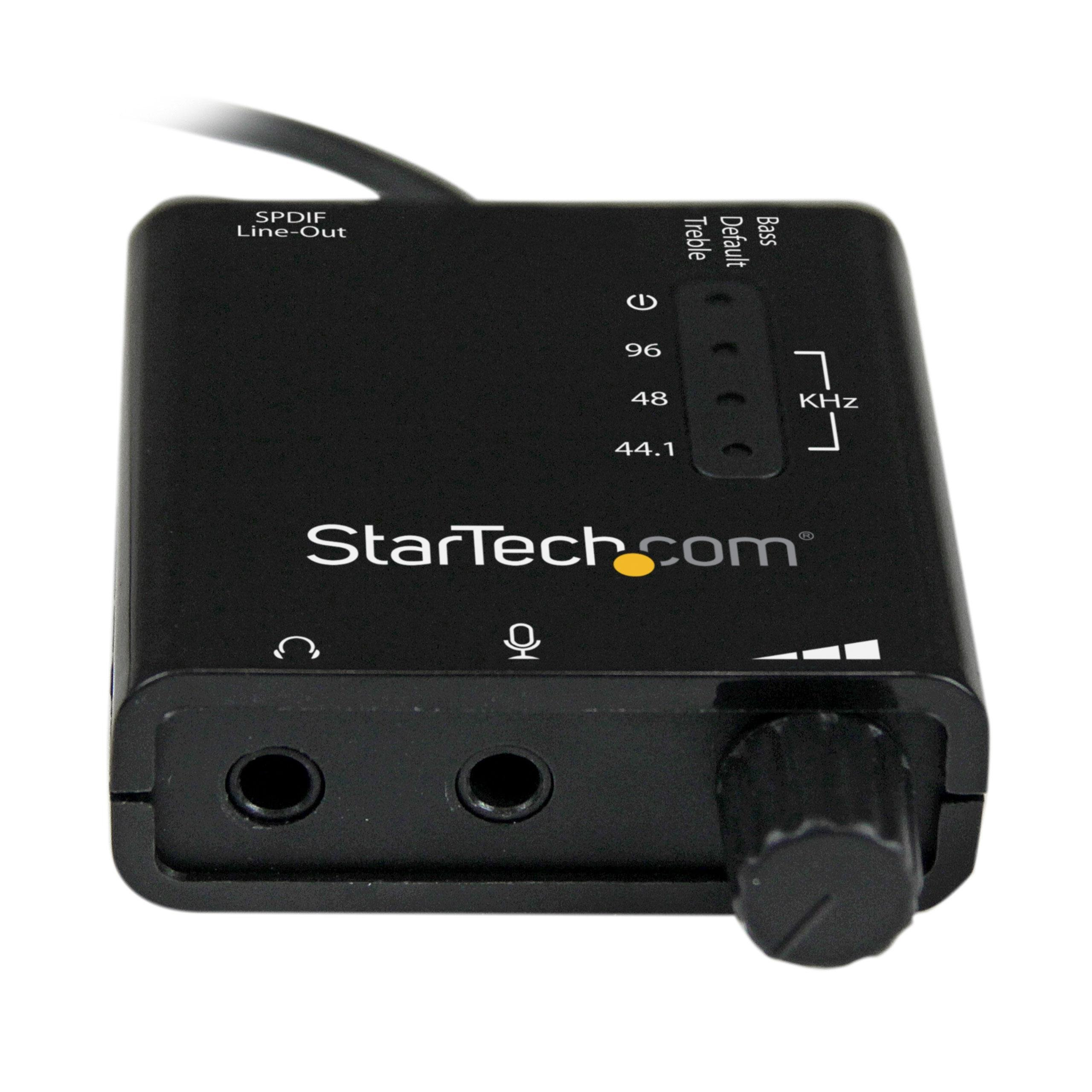 Amazon.com: StarTech.com ICUSBAUDIO2D USB Stereo Audio ... | 2560 x 2560 jpeg 457kB