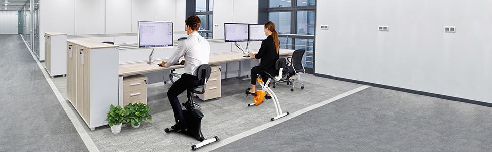 Amazoncom Loctek U1 Exercise Bike Under Desksice Wellness Upright