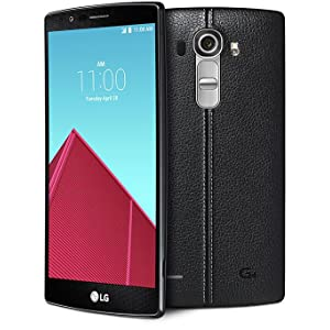 lg phone black. lg g4, black leather lg phone