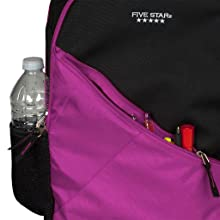 Five Star Angle Zip Plus Backpack