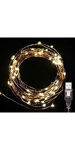 2EL100LEDCCWH Electric Powered 100 LED White Extendable String Light Christmas Holiday Light 34 Feet Lot Of 2