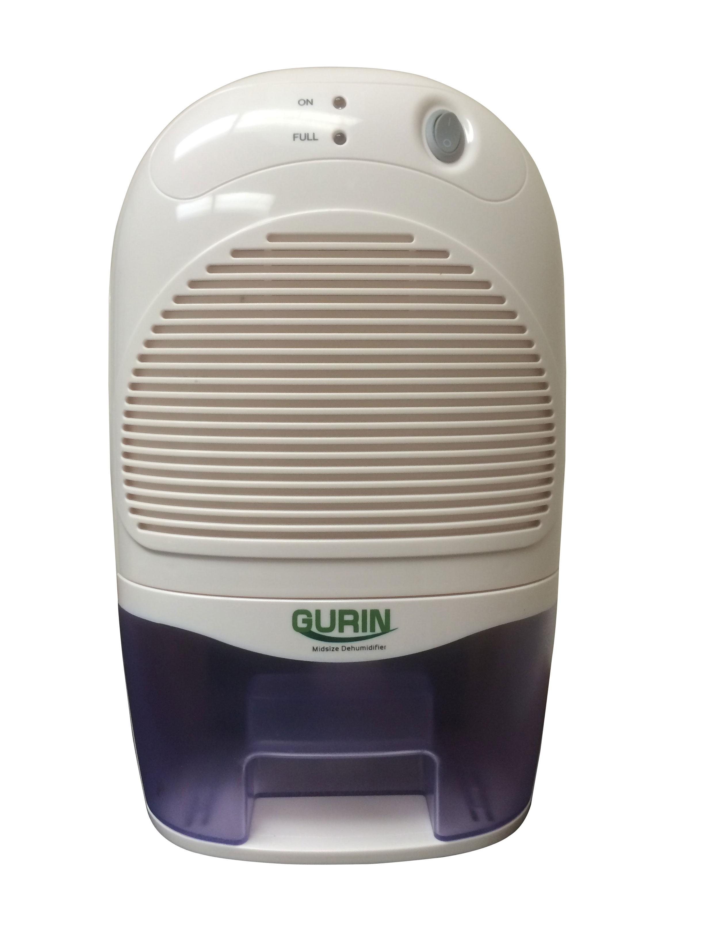 Amazon.com: Gurin DHMD 310 Mid Size Electric Dehumidifier with 1500ml  #5C4E43