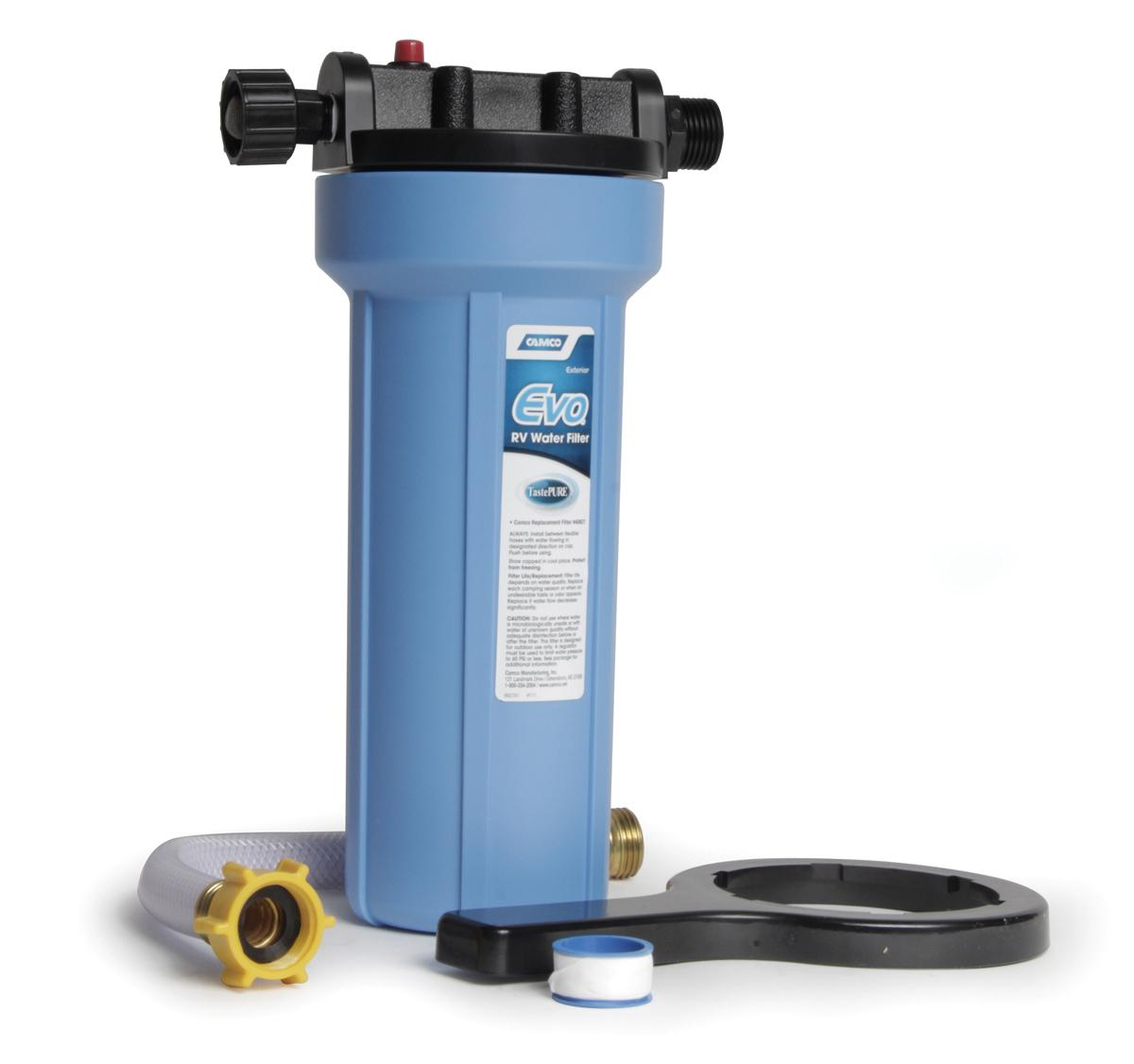 Waterfilter Amazoncom Camco 40631 Evo Premium Water Filter Automotive