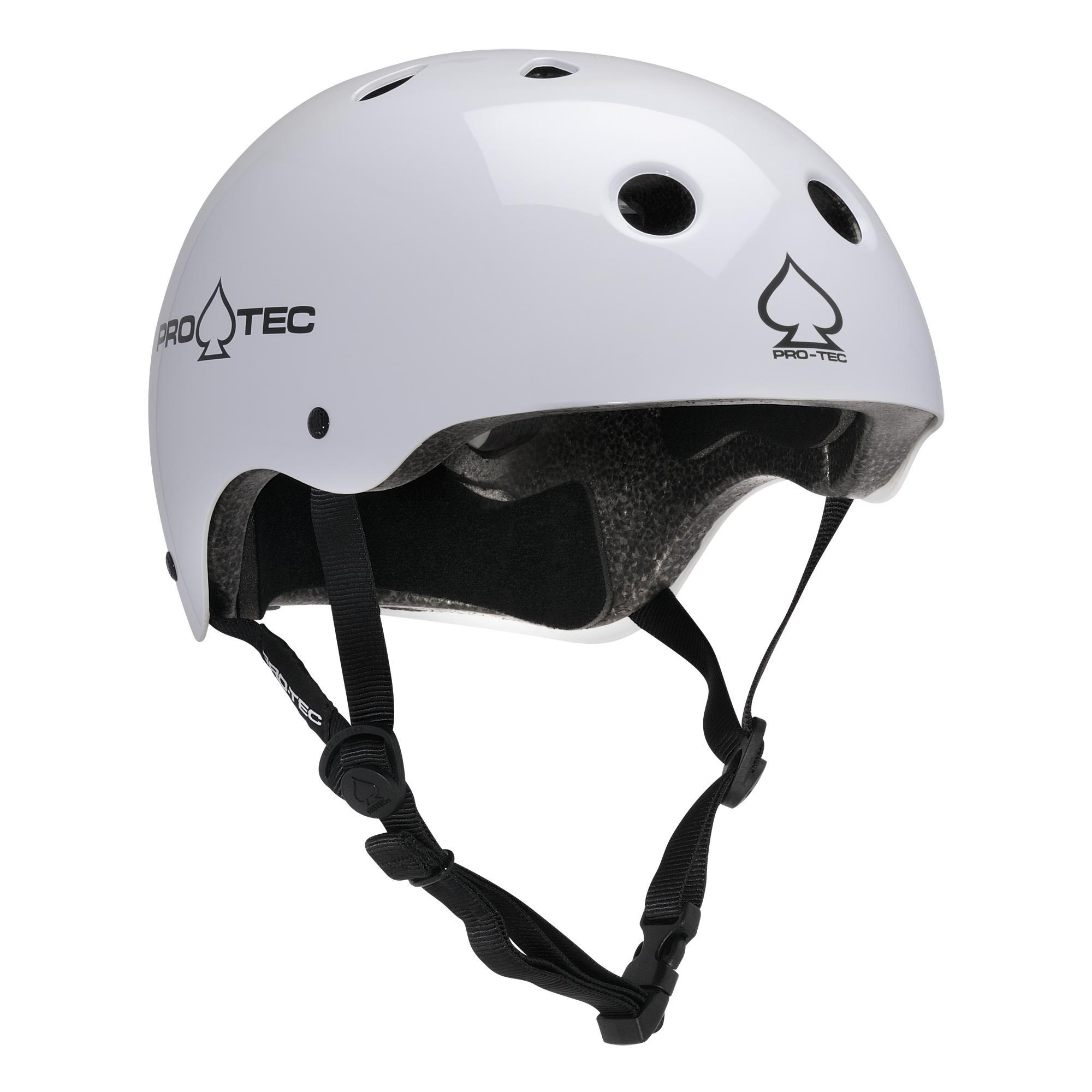 Matte Light Grey Pro-Tec Classic Certified Skate//BMX//Scooter Helmet