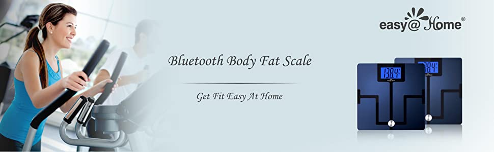 Bluetooth Body Fat Smart Scale Get Fit Easy At Home