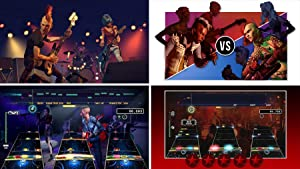 Rock Band Rivals Expansion Screen Shots of Rockudrama, Rivals Mode, Online Multiplayer, Brutal Mode